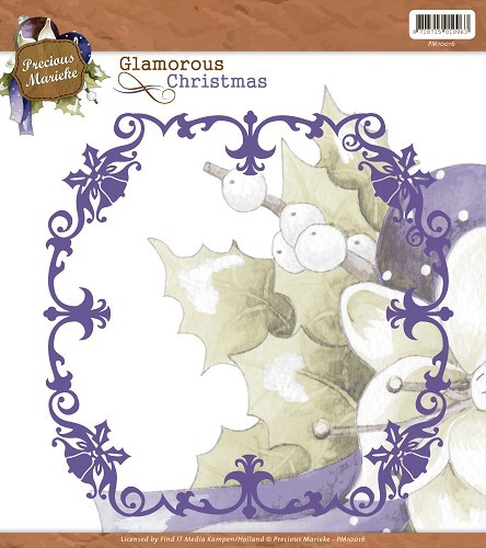Christmas Frame / Weihnachtlicher Rahmen - Stanz- Prägeschablone