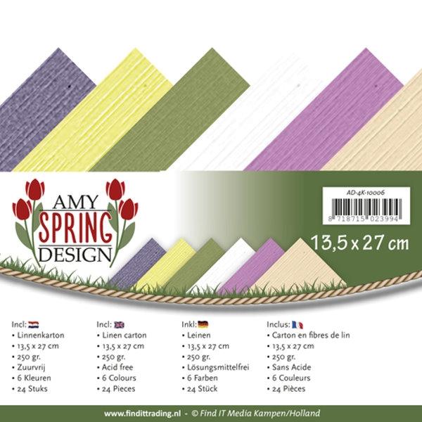 Spring - Leinenpapier-Set 4K