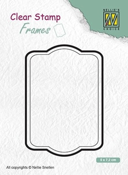 "Frames ""rectangle"" / Rahmen ""rechteckig"" - Stempel / Clearstamp"