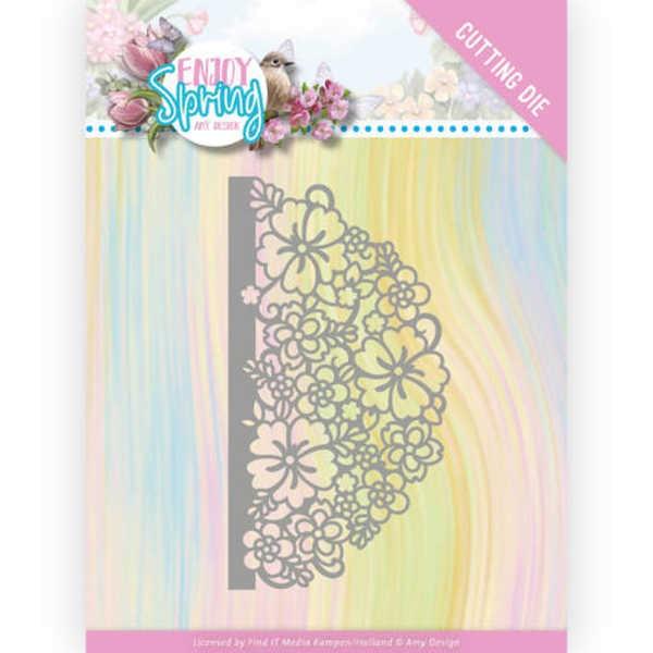 Half Flower Circle - Enjoy Spring Collection von Amy Design (ADD10239)