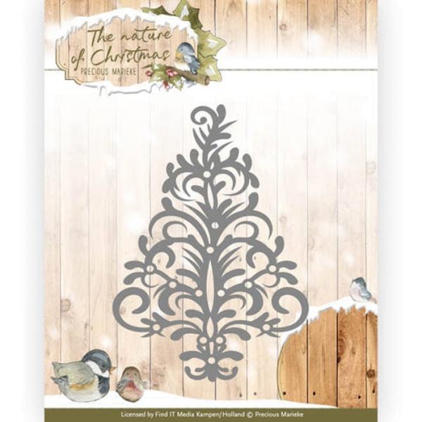 Christmas Tree / Weihnachtsbaum - Stanzschablone