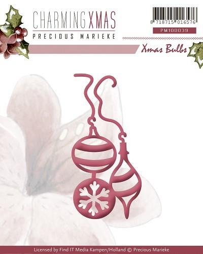 Bulbs / Weihnachtsbaumkugeln - Stanz- Prägeschablone