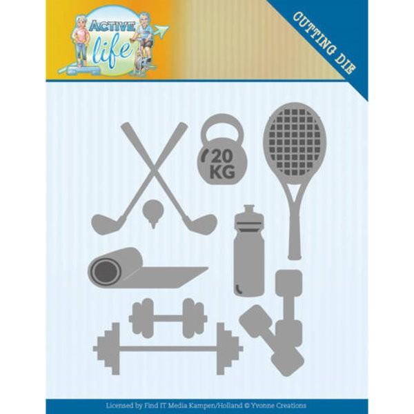 Active Sports - Active Life - Stanzschablone