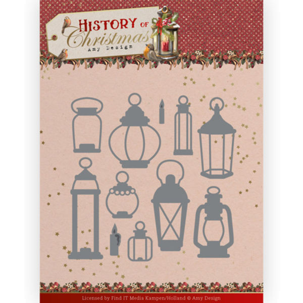 All Kinds of Laterns - History of Christmas Collection von Amy Design (ADD10248)