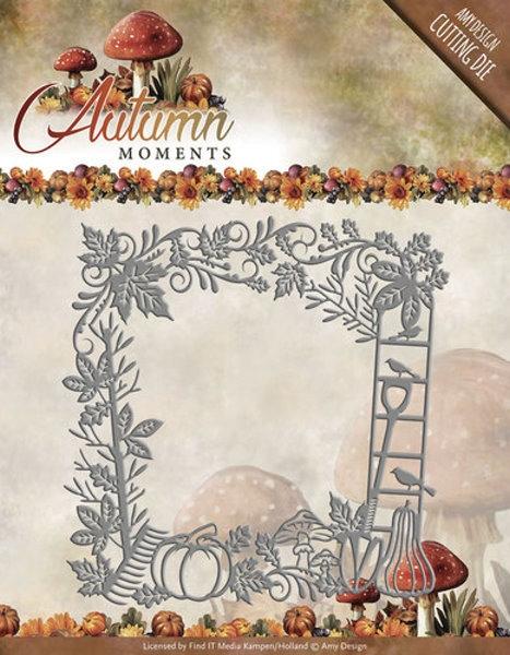 Herbstmomente - Frame / Rahmen - Stanzschablone