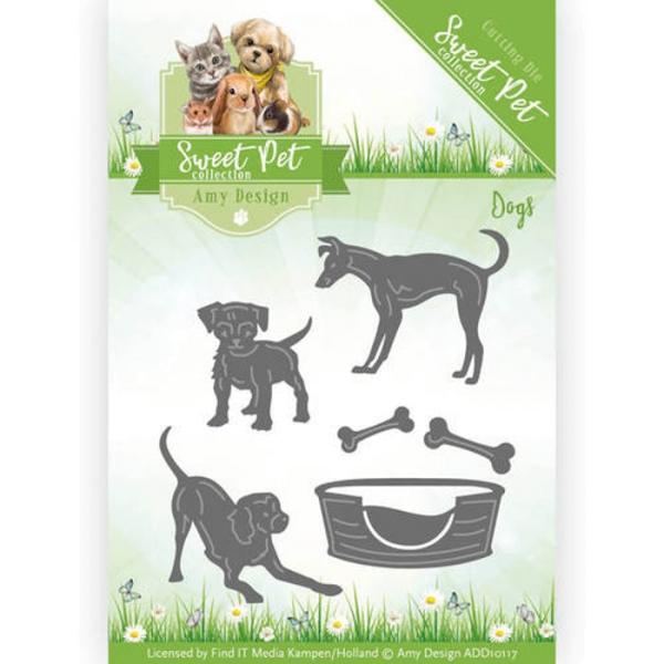 Hunde / Dogs - Stanzschablone