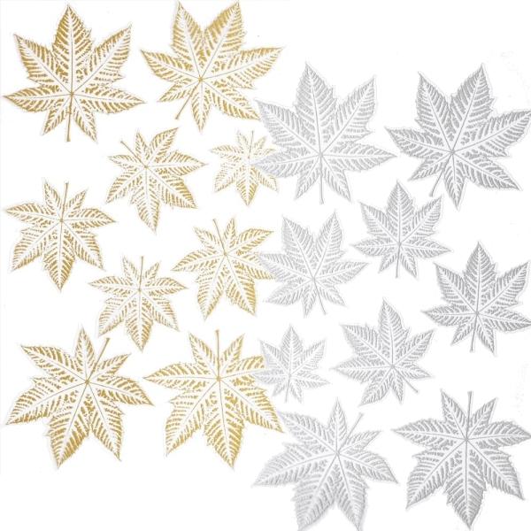 CREApop® HOBBY-Design Sticker Blätter I - Gold oder Silber