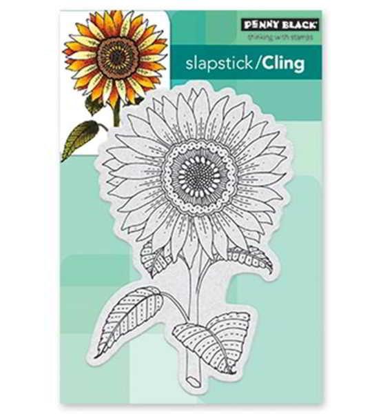 Sun Glow / Sonnenblume - Stempel / Clearstamp