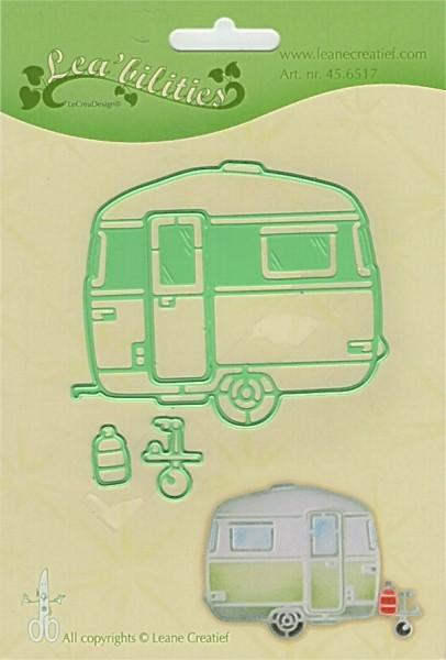 Caravan / Wohnwagen - Stanzschablone