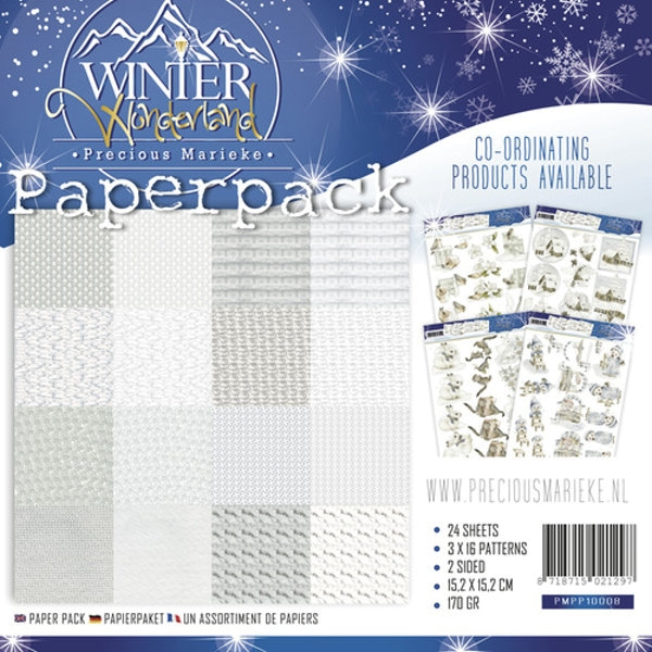 Design Motivpapier - Winter Wonderland