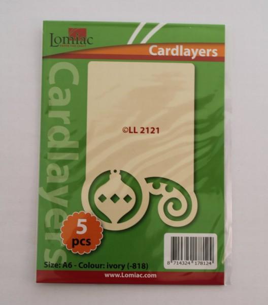 Cardlayer (Karteneinleger) - Weihnachtsmotive LL2121