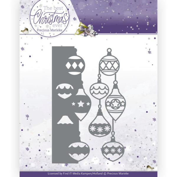 Christmas Bauble Border / Christbaumkugel - The Best Christmas Ever Collection von Precious Marieke