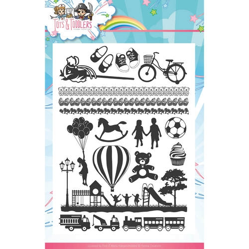 Tots and Toddlers - Clearstamp-Set