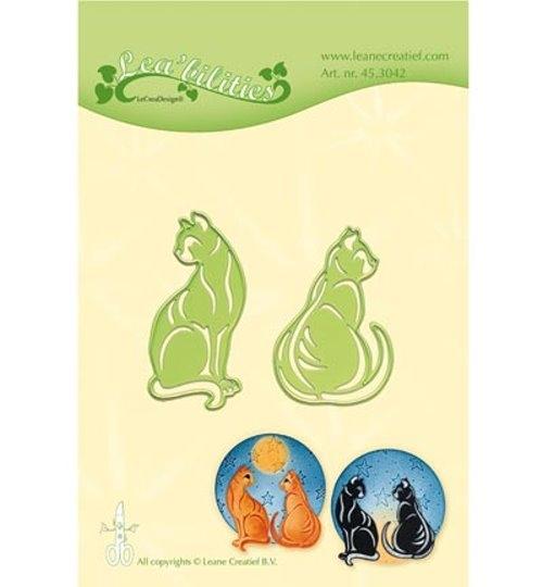 Katzen / Cats - Stanzschablone