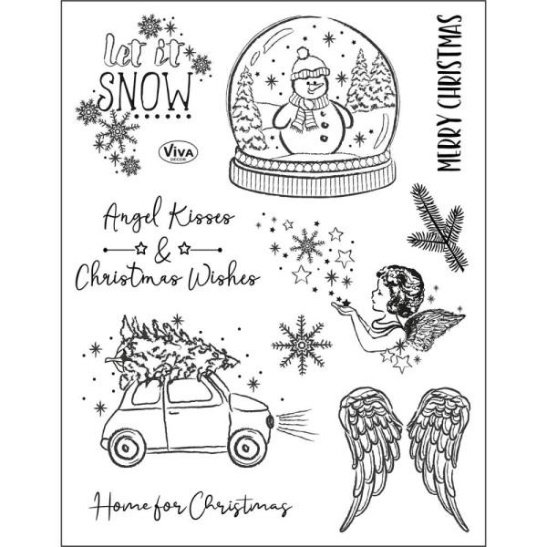 Angel Kisses - Stempel / Clearstamp
