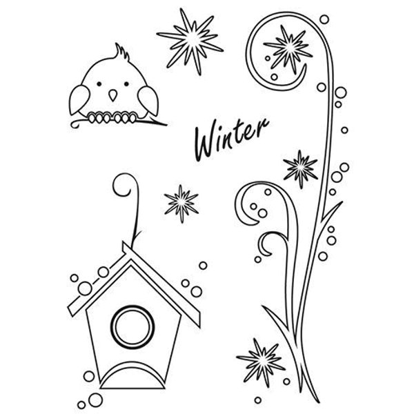 Winter - Stempel - Clearstamp