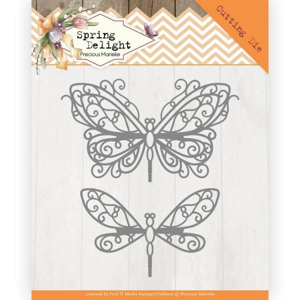 Spring Butterfly / Schmetterling - Stanzschablone