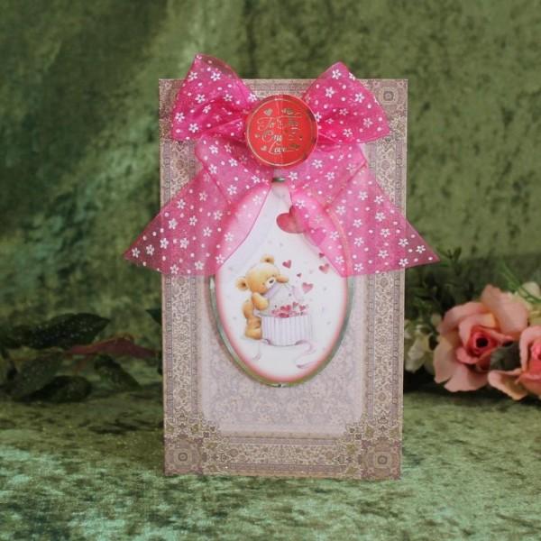 Gruß- Glückwunschkarte z.B. zum Valentinstag