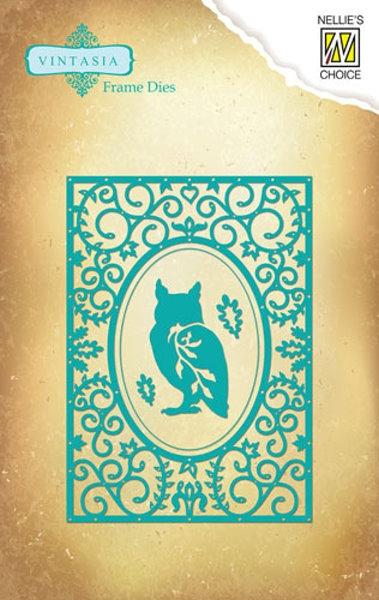 wise Owl (Weise Eule) - Stanz- und Prägeschablone