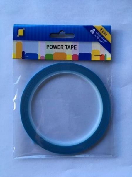 Power Tape - 3 mm x 10 m Doppelseitiges, Ultrastarkes Klebeband