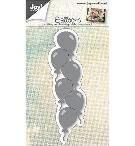 Ballonrand - Stanzschablone-