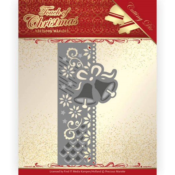 Christmas Bells Border - Touch of Christmas - Stanzschablone
