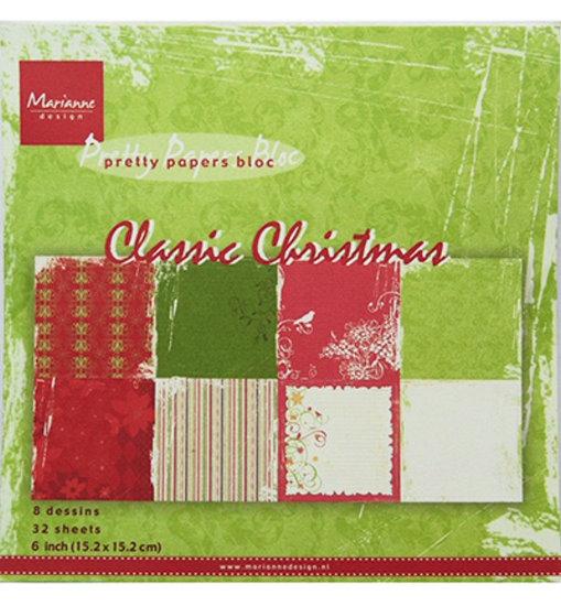 Design Motivpapier - Classic Christmas