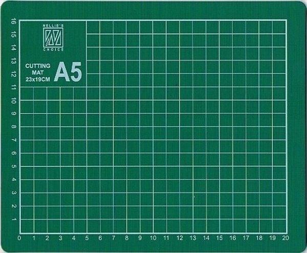 Schneidematte DIN A5 - Schneideunterlage - 23 x19 cm