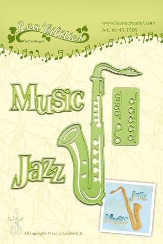 Saxophone - Stanz- & Prägeschablone