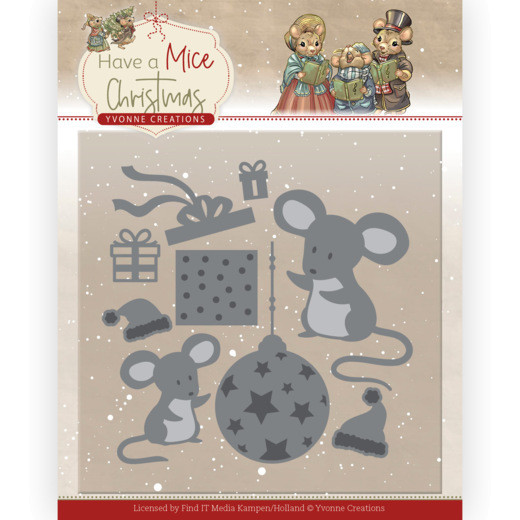 Christmas Mouse Gift - Have a Mice Christmas Kollektion von Yvonne Creations (YCD10252)