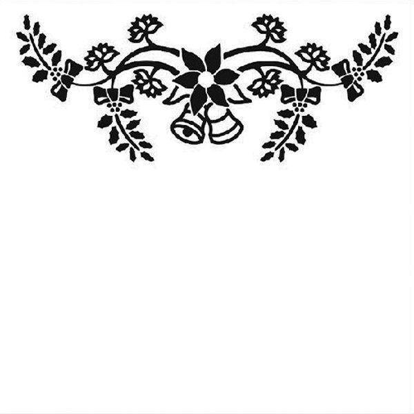 Christmas Bells - Prägeschablone / Embossing Folder