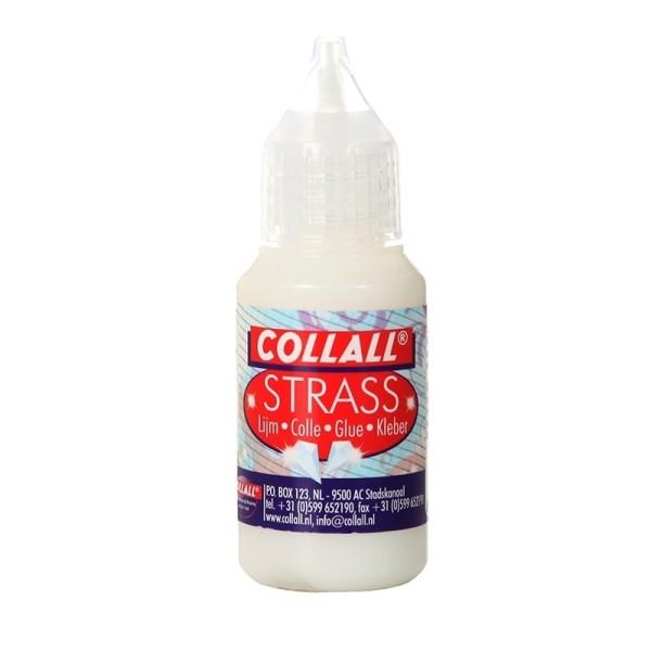 Strass-Stein-Kleber mit feiner Spitze - 25ml - von Collall