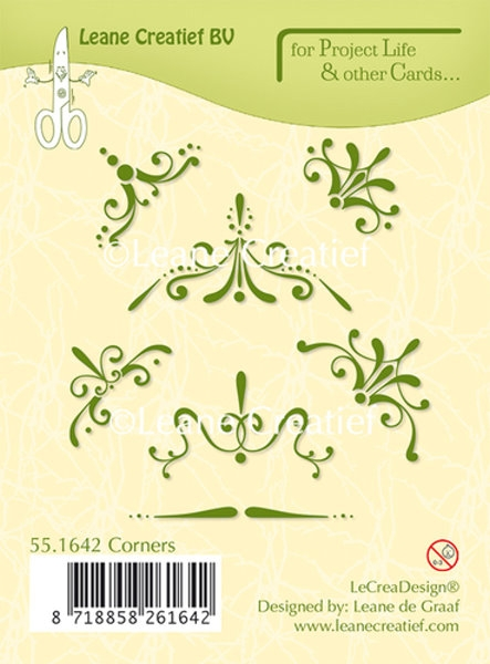 Project Life & Card´s - Corners - Stempel / Clearstamp