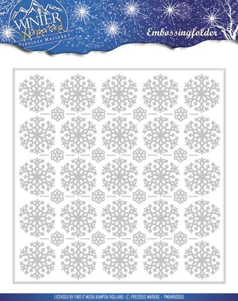 Winter Wonderland - Prägeschablone / Embossing Folder