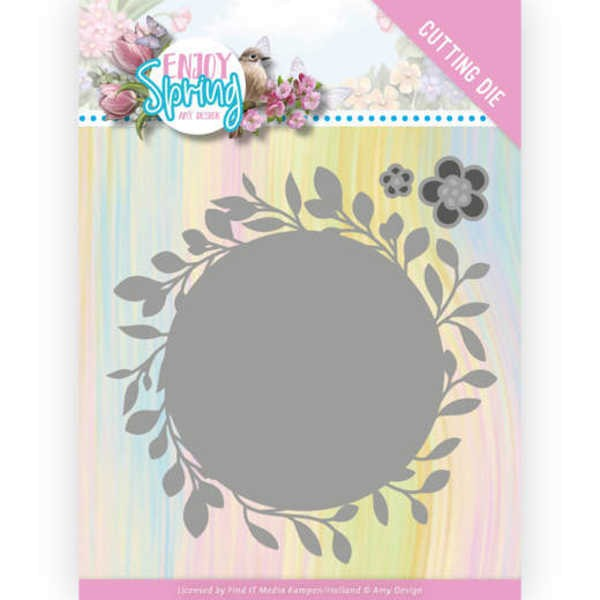 Leaf Circle - Enjoy Spring Collection von Amy Design (ADD10241)