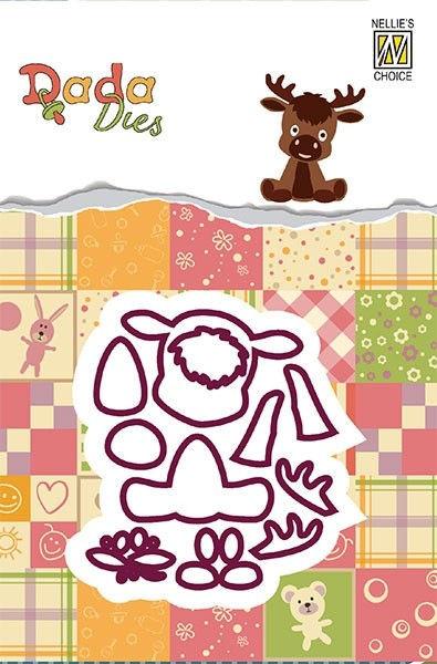 Deer / Rentier - DADA Dies Forest Animals von Nellie´s Choice (DDD014)