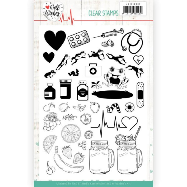 Well Wishes - Stempel - Clearstamp