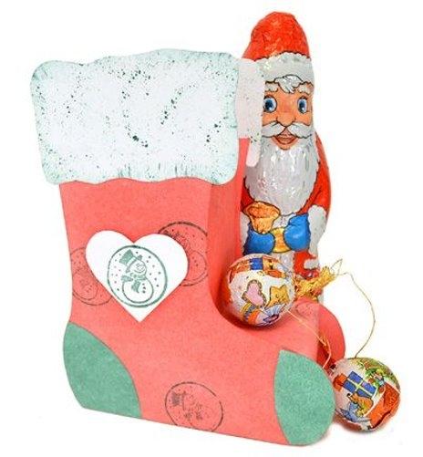 Verpackungs-Schablone - Weihnachts-Strumpf