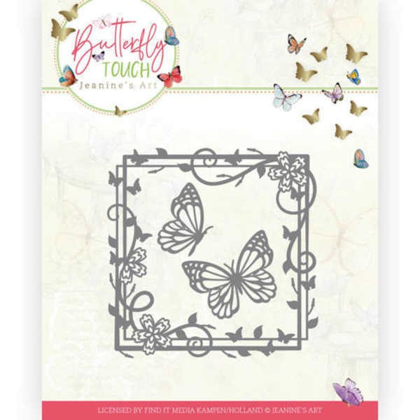 Butterfly Square - Butterfly Touch Collection von Jeanines Art (JAD10122)