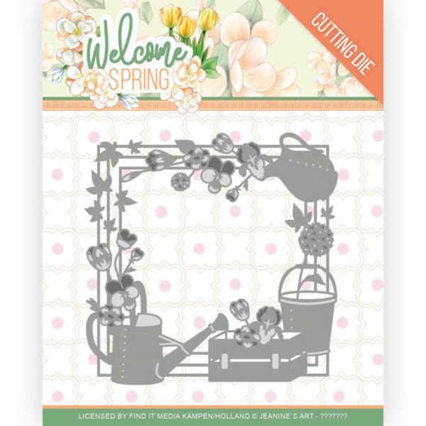 Spring Frame - Welcome Spring Collection von Jeanine´s Art (JAD10111)