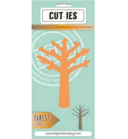 Forret Fellows - Großer Baum - Stanzschablone von Cut-ies (20080)