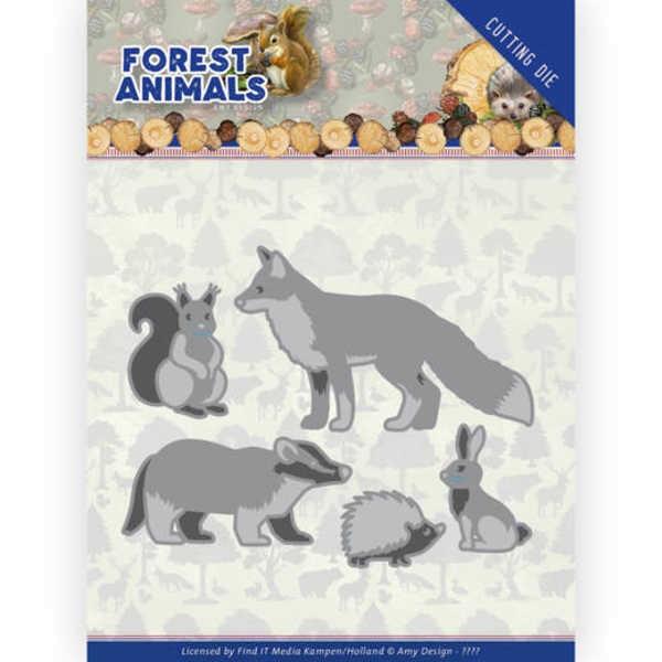 Forest Animals 1- Forest Animals Collection von Amy Design (ADD10233)