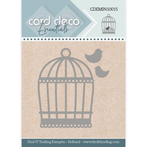 Birdcage / Vogelkäfig - Mini Dies von Card Deco (CDEMIN10015)