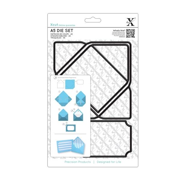 XCU 503209 - Briefumschlag - DIN A7 - Stanzschablone