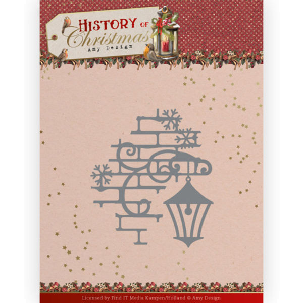 Christmas Laterne - History of Christmas Collection von Amy Design (ADD10249)