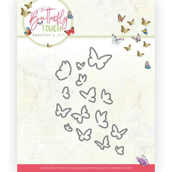 Bunch of Butterflies- Butterfly Touch Collection von Jeanines Art (JAD10120)