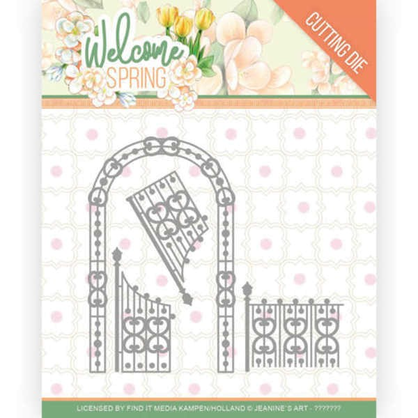 Arch and Fence - Welcome Spring Collection von Jeanine´s Art (JAD10113)