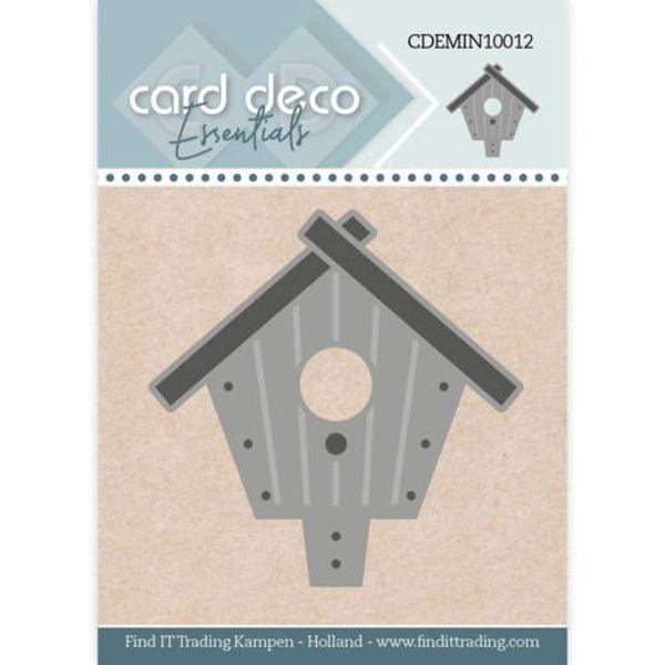 Birdhouse / Vogelhaus - Mini Dies von Card Deco (CDEMIN10012)