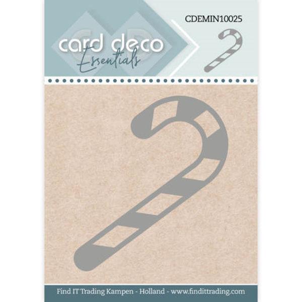Candy Cane / Zuckerstange - Mini Dies von Card Deco (CDEMIN10025)