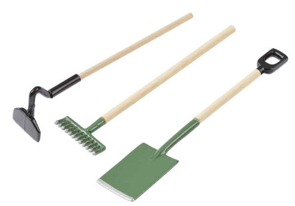 Gartenwerkzeug-Set - 3-tlg. ca. 9 cm